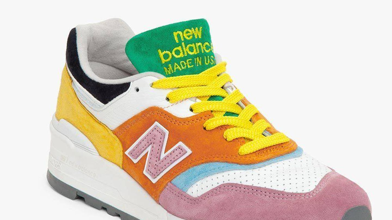 Staud x New Balance.