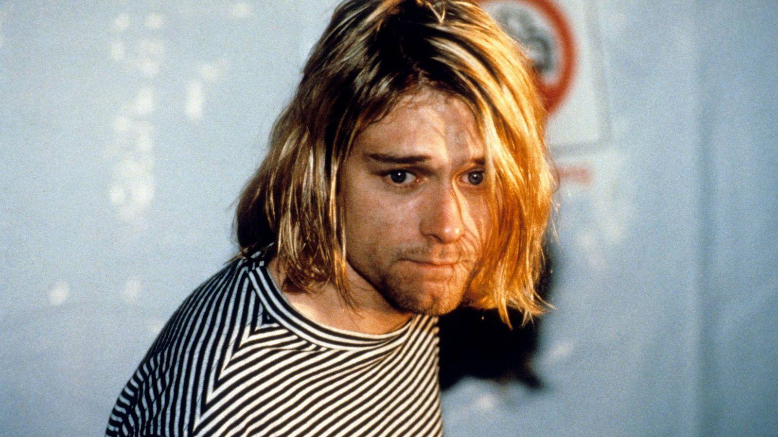 Foto:  Kurt Cobain, un año antes de su muerte. (Cordon Press)