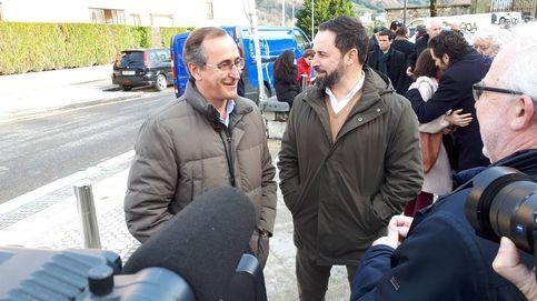 Cs y Vox fracasan en el País Vasco y arrastran al PP, que se desploma por la división de voto