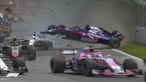 Fórmula 1 en directo: Alonso fuera por un problema en el Mclaren. Sainz es 8º
