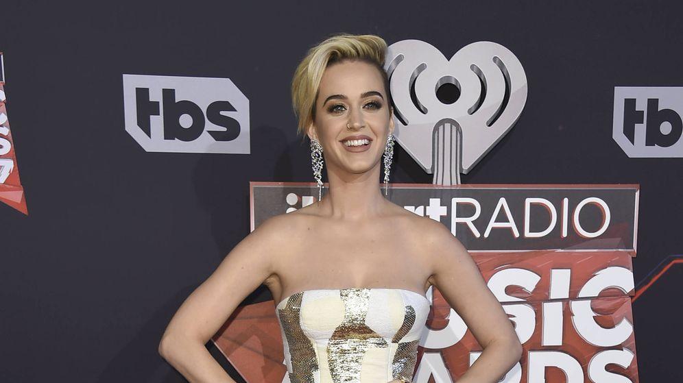Foto: Katy Perry durante los Premios iHeartRadio Music Awards 2017 (Gtres)