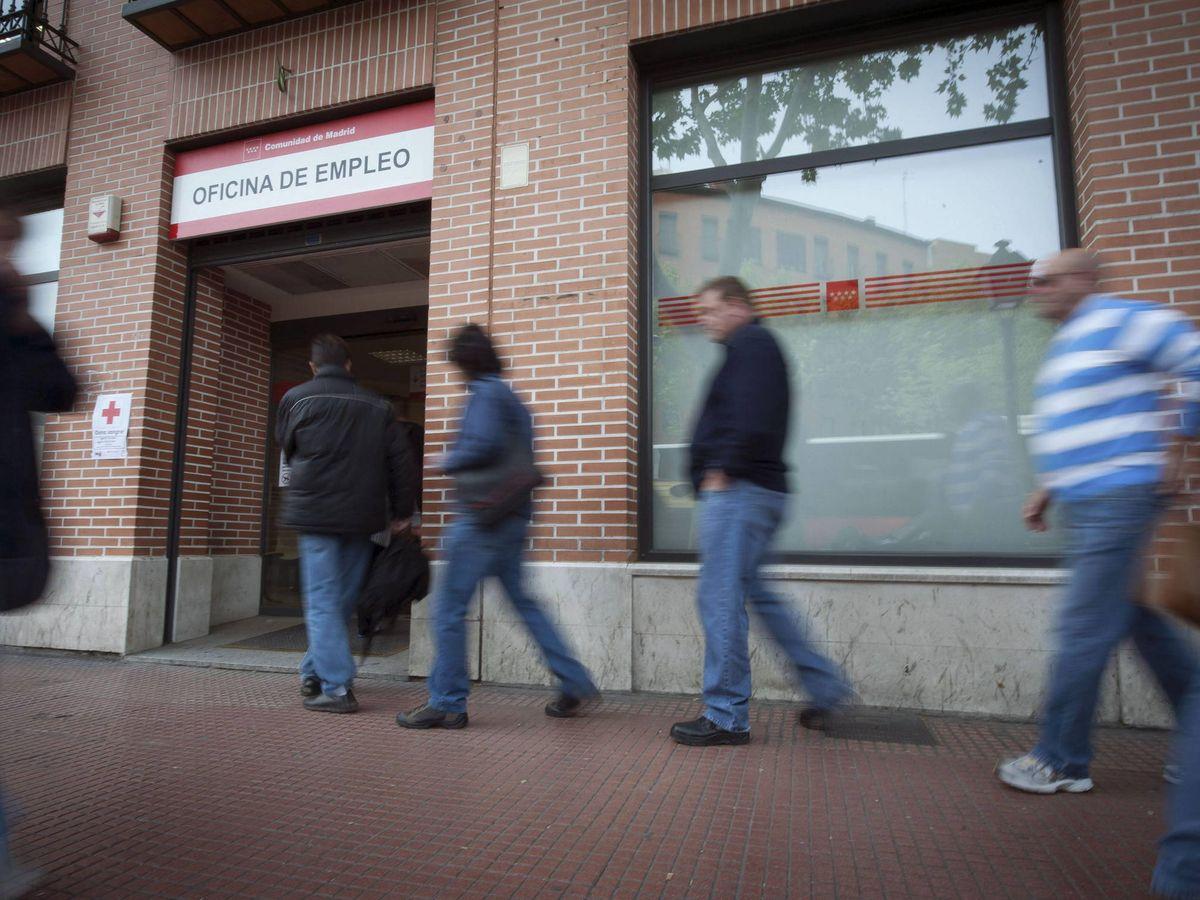 Foto: Las oficinas de empleo permanecen cerradas durante el estado de alarma (EFE)