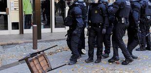 Post de Sindicatos de Mossos protestan ante la Consejería pidiendo ver a Aragonès