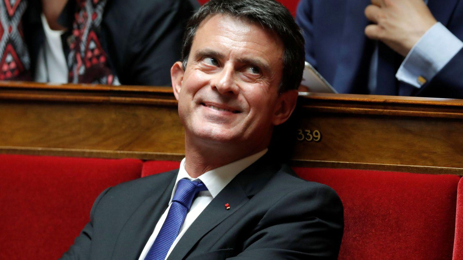 Foto: El exprimer ministro de Francia, Manuel Valls. (Reuters)