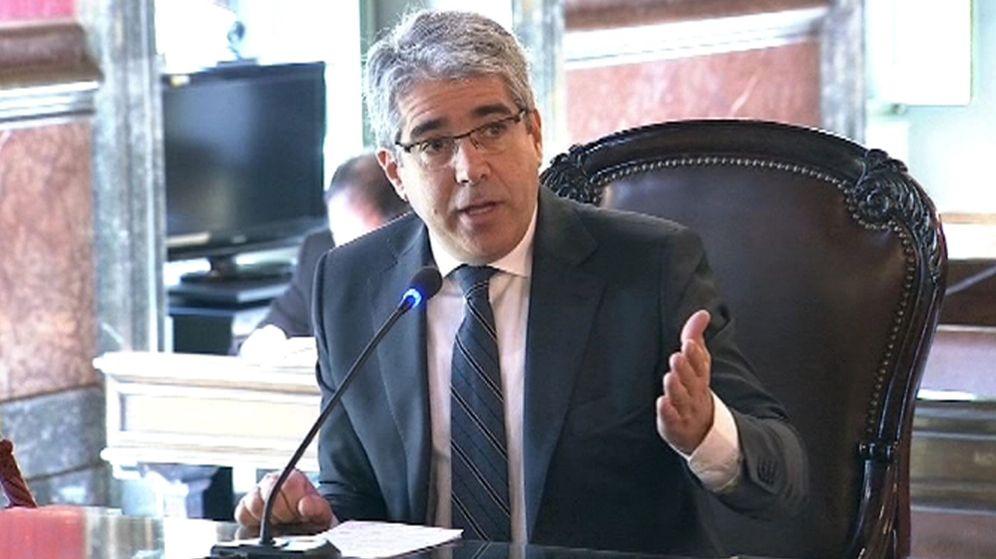 Foto: Francesc Homs durante el juicio