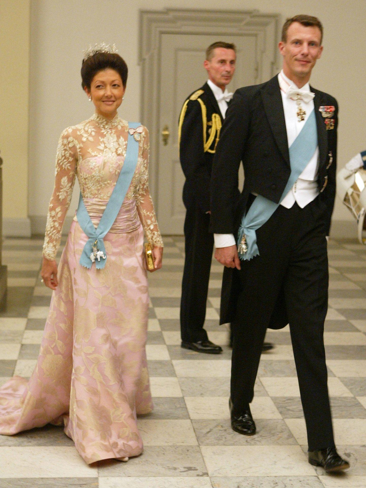 Alexandra y Joaquín de Dinamarca, antes de su divorcio. (Getty)