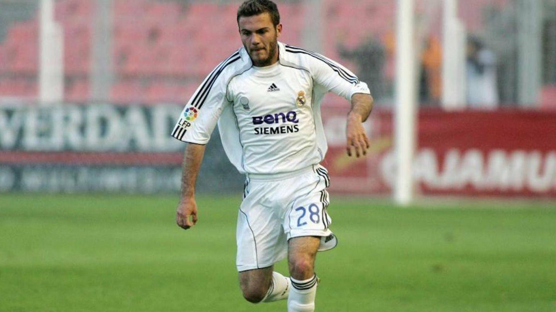 Juan Mata, jugando para el Castilla. (EFE)