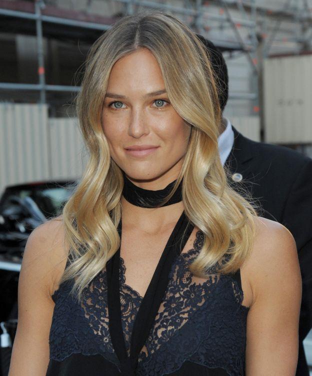 Foto: La modelo durante una fiesta de Vogue en París (Gtres)