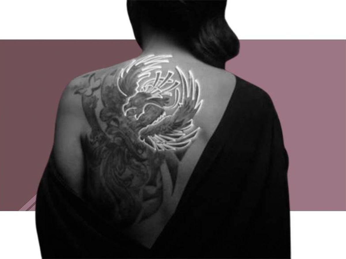 Foto: El imponente tatuaje de Rocío Carrasco.
