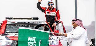 Post de La rutina de Fernando Alonso para caer de pie (o lo mejor posible) en el Rally Dakar