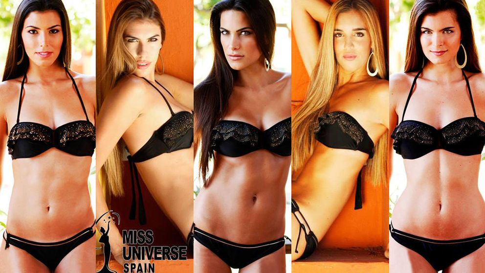 Las 15 aspirantes a quitarle la corona a Desiré Cordero como Miss Universe Spain 2015