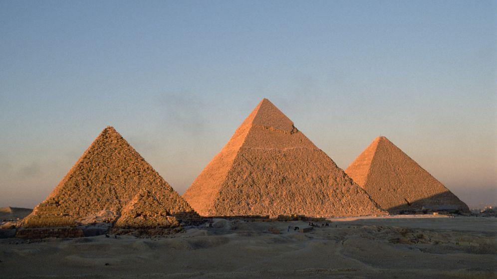 Foto: Las pirámides de Giza. (Corbis)