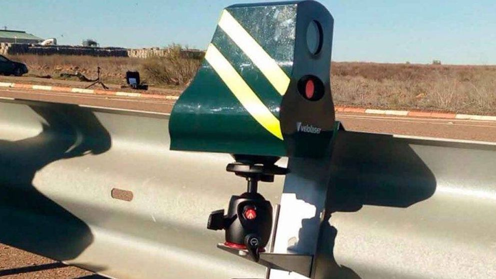 El radar indetectable que ha multado en su primer día de uso a 100 coches cada hora