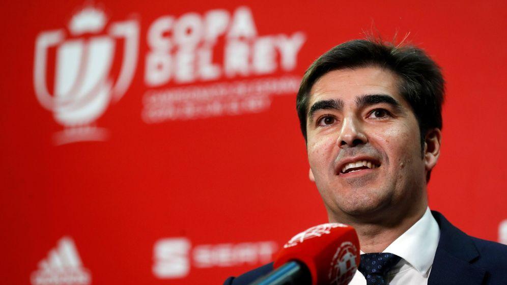 Foto: El presidente del Betis, Ángel Haro. (EFE)