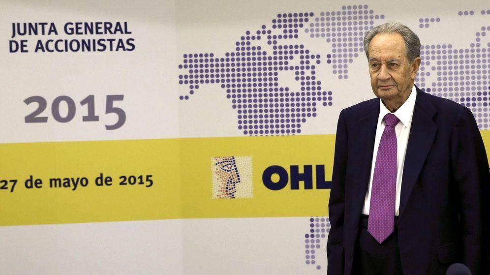 Foto: Juan Miguel Villar Mir, presidente de OHL. (EFE)
