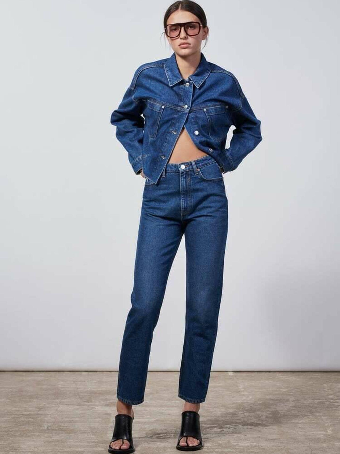 El nuevo pantalón vaquero de Zara. (Cortesía)