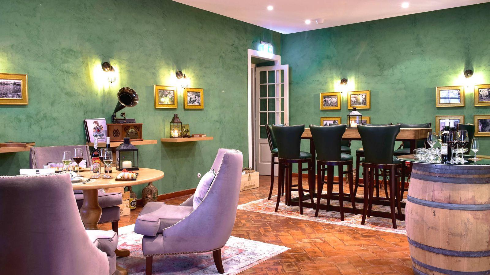 Foto: La Wine Room del Tivoli Pálacio de Seteais, en Sintra. (Cortesía)