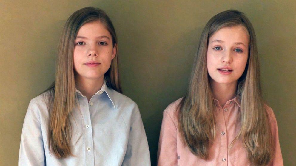 La reaparición de Leonor y Sofía (y el papel de Letizia) en la prensa internacional