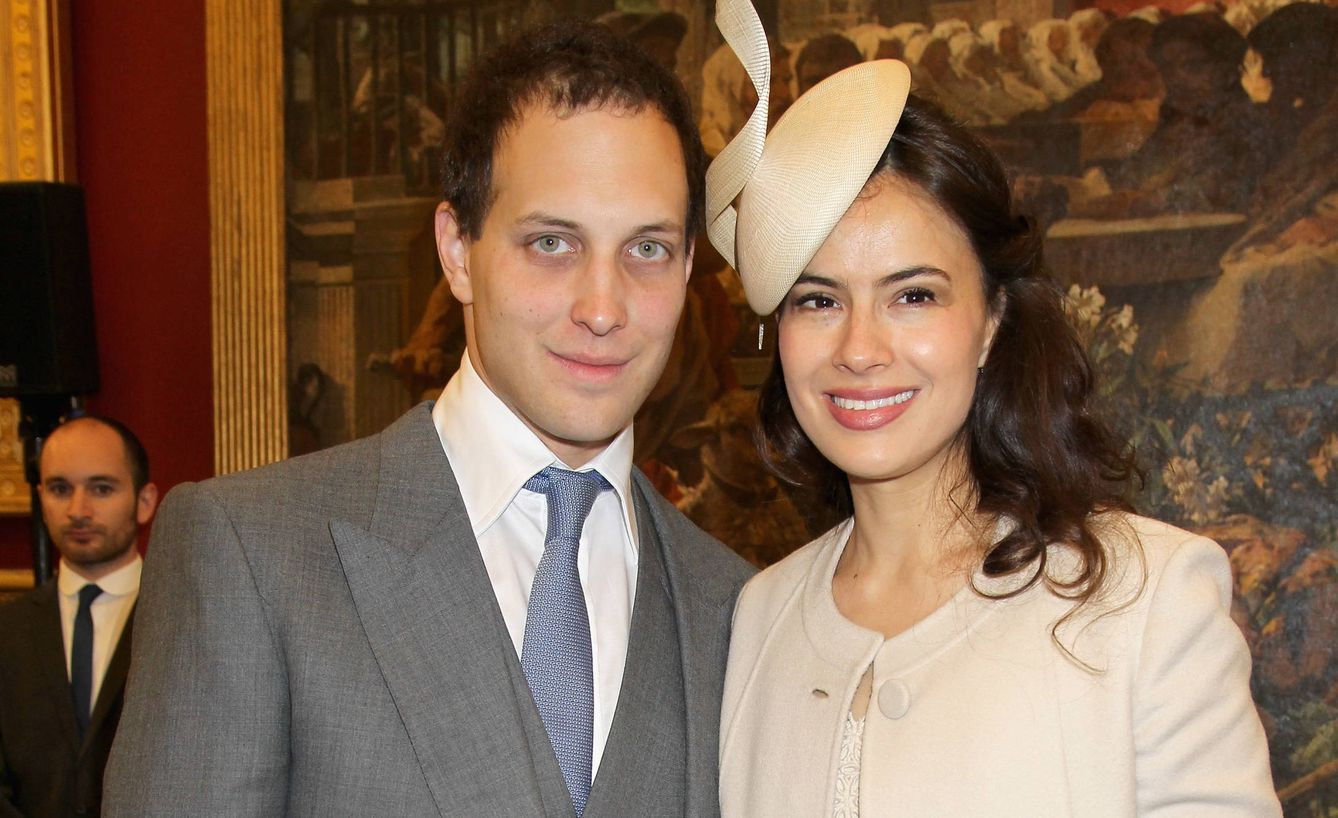 Lord Frederick y su mujer. (Getty Images)