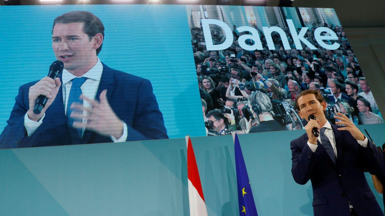 Kurz gana en Austria y debe elegir: ¿más ultraderecha o abrazar a Los Verdes?