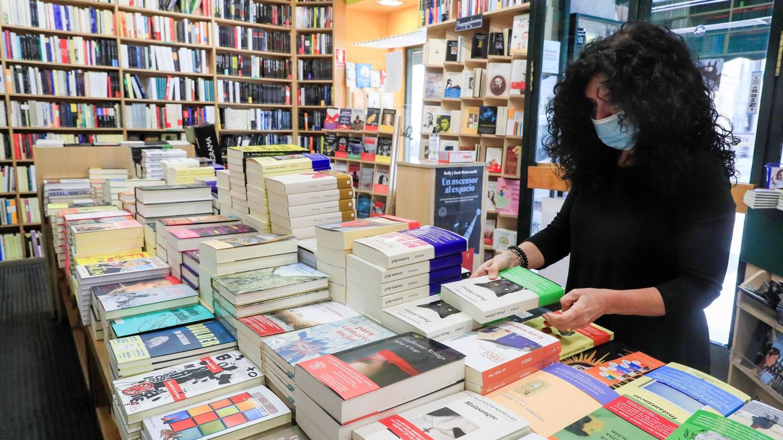 Foto: Librería Antonio Machado, en Madrid (EFE)
