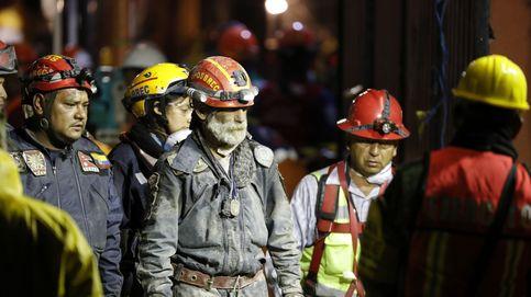 Rescate de supervivientes tras el nuevo sismo en México