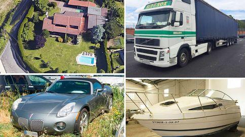 Porsches, arte y bienes de narcos: así es el Idealista de subastas de los procuradores