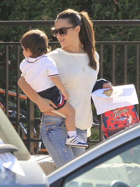 Foto: La Dama con su hijo Marco (Gtres)