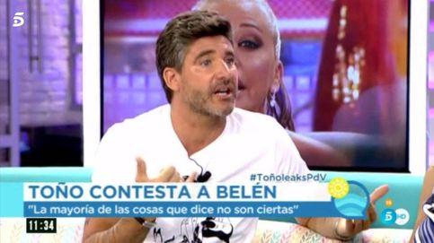 Toño Sanchís asegura que él no ofreció hacer platós a Belén: Ella lo manipula