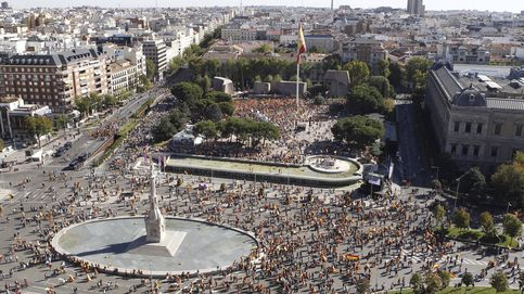 Directo | Manifestación en la plaza de Colón de Madrid