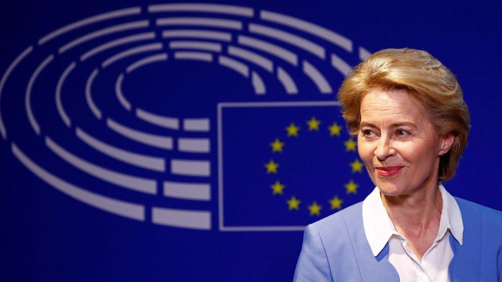 Foto: Von der Leyen promete un salario mínimo en la UE como presidenta de la Comisión