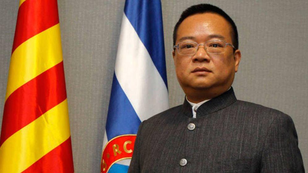 Foto: El empresario chino Chen Yansheng, dueño del RCD Espanyol