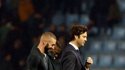 El idilio de Solari con Benzema (otro entrenador que tiene que picar piedra)