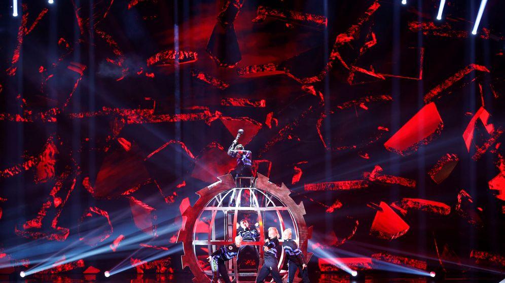 Foto: La actuación de Islandia durante una prueba de cara a la gran final de Eurovisión 2019 (Reuters)