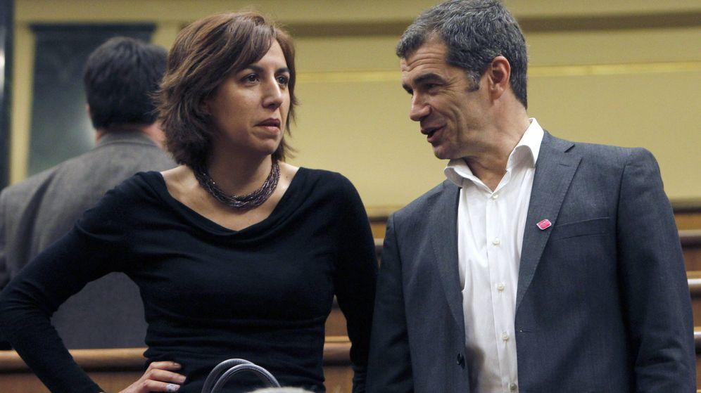 Foto: La diputada Irene Lozano y el exdiputado Toni Cantó de UPyD en una imagen de archivo. (Efe)