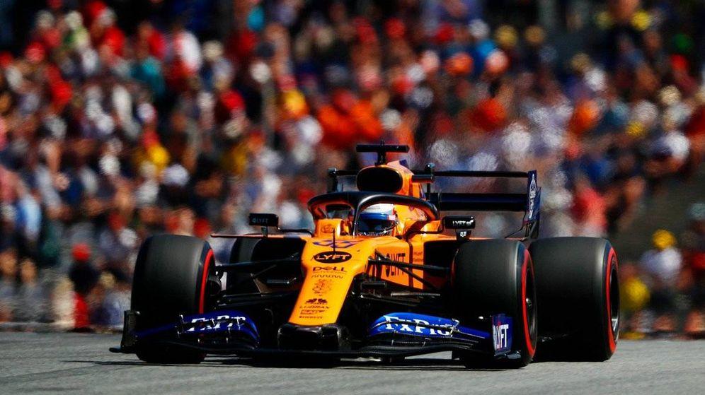 Foto: Carlos Sainz durante el GP de Austria. (McLaren)