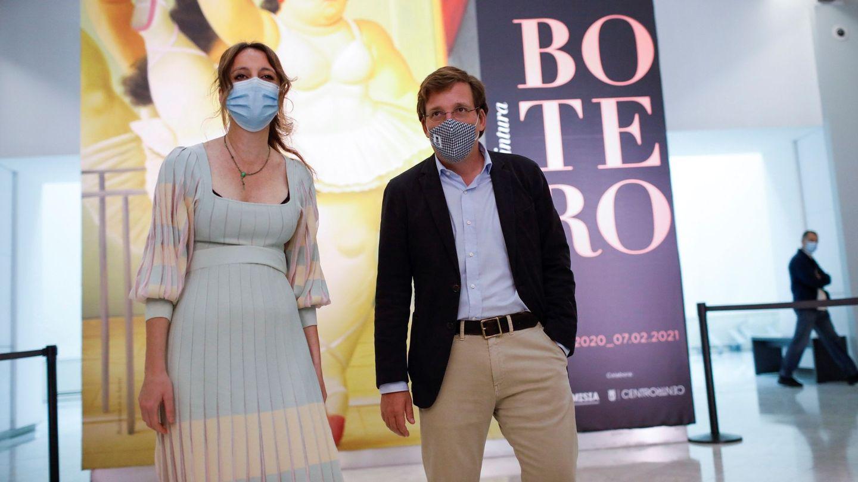 El alcalde de Madrid, José Luís Martínez Almeida y Andrea Levy. (EFE)