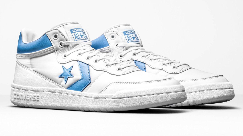 Foto: imagen de las Converse FastBreak, una de las zapatillas del exclusivo kit.