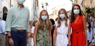 Post de Lo que no se vio del estreno de Leonor y Sofía en Mallorca: dudas y felicitaciones