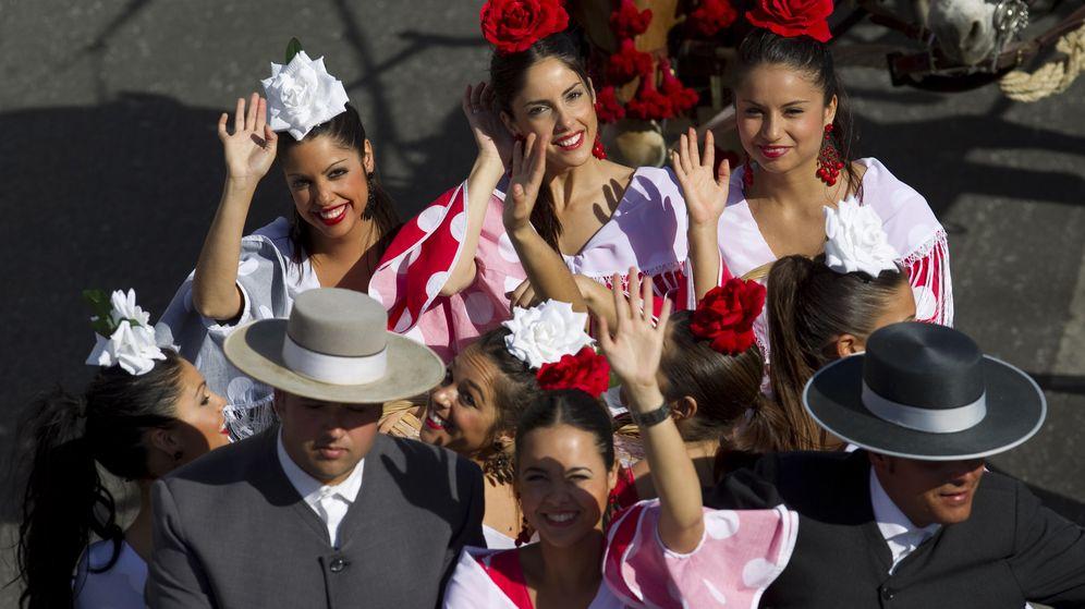 Foto: La Feria de Abril de Sevilla es una fiesta conocida a nivel mundial. (Reuters)