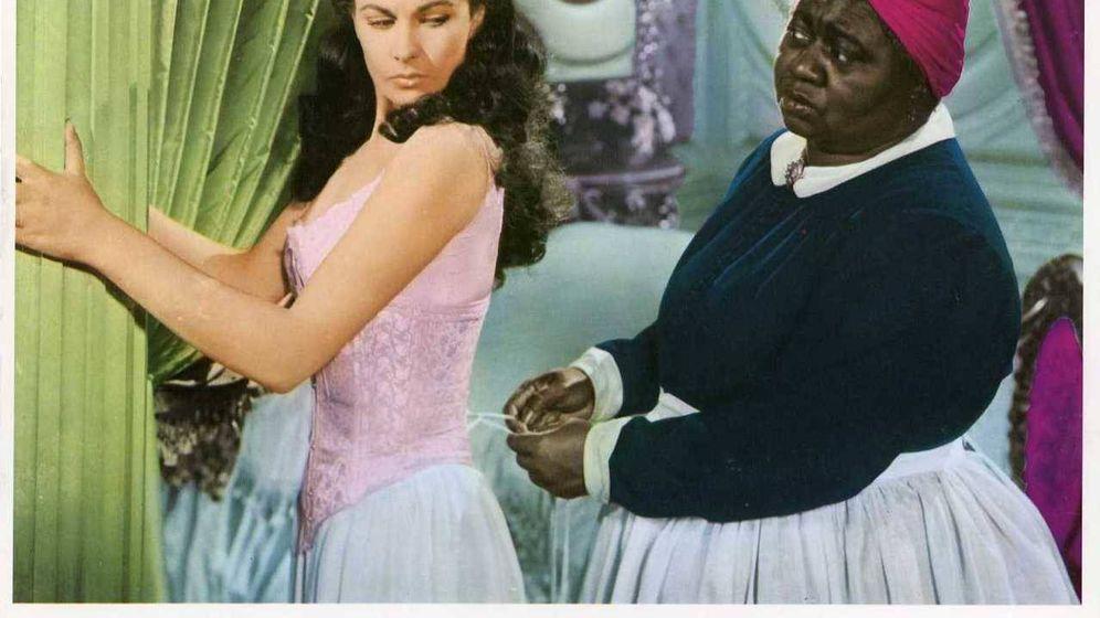 Foto: Extracto de un cartel de 'Lo que el viento se llevó'. (MGM)
