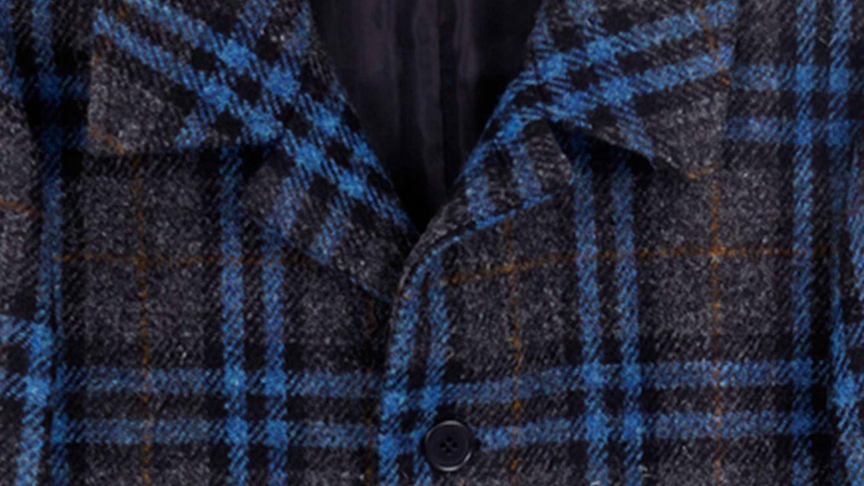 Foto: Harris Tweed de Aspesi es un ejemplo de cómo cuidar los tejidos dentro de la moda masculina.