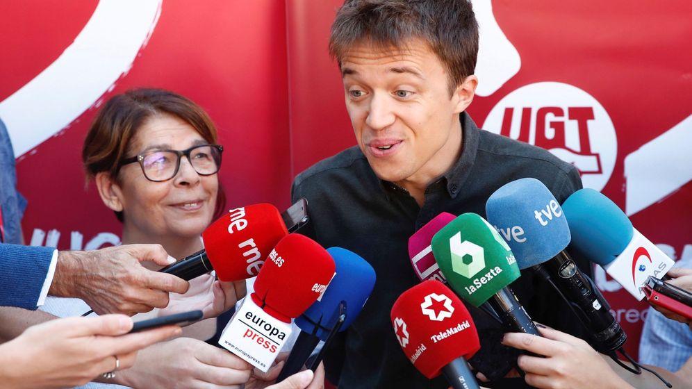 Foto: Iñigo Errejón, junto a Inés Sabanés. (EFE)