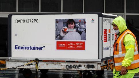 Sao Paulo recibe el primer lote de la vacuna china en plena escalada de contagios
