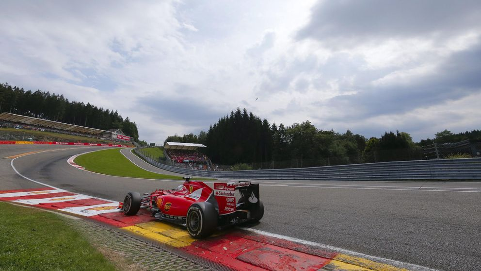 Horario y televisión del Gran Premio de Bélgica de Fórmula 1