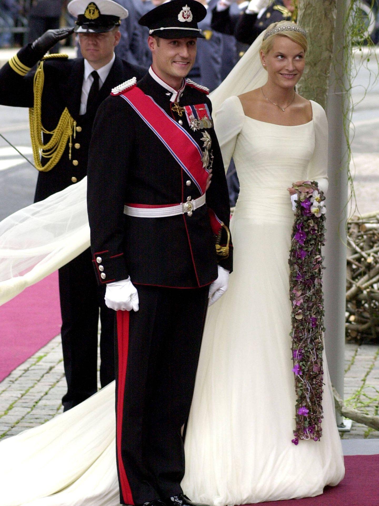 Mette-Marit y Haakon de Noruega. (Getty)