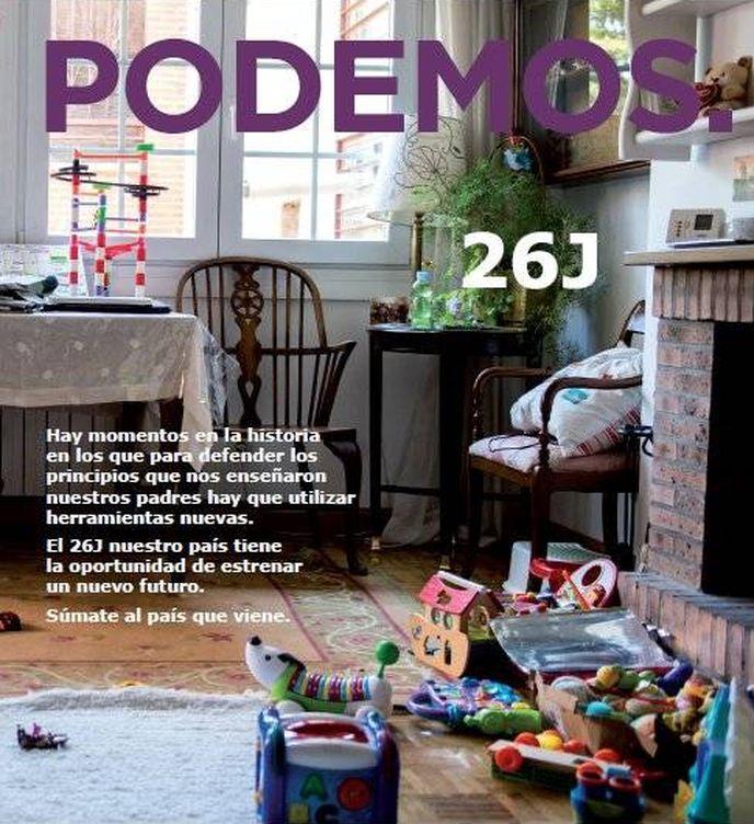 Foto: Catálogo de Podemos.