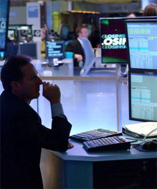 Foto: Wall Street se tiñe de rojo tras los malos datos de empleo