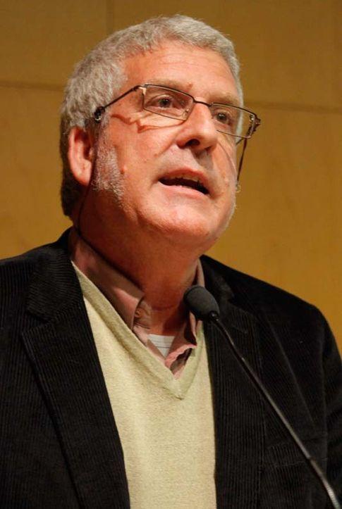 Gregorio Luri durante una conferencia. (Marti Artalejo)