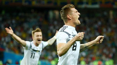 Alemania - Suecia en directo: Krooz salva a la campeona del mundo con un gol en el 95'